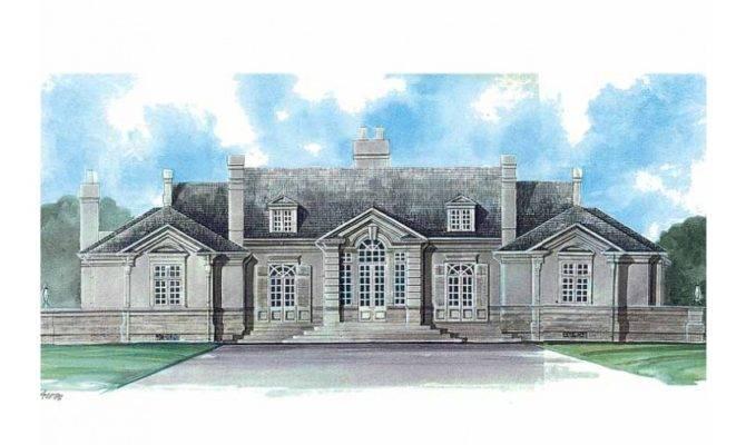 Neoclassical Home Hwbdo Builderhouseplans