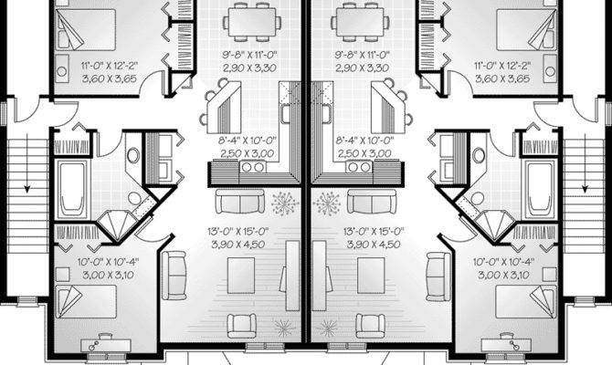 Neoclassical Home Plan Second Floor House Plans More