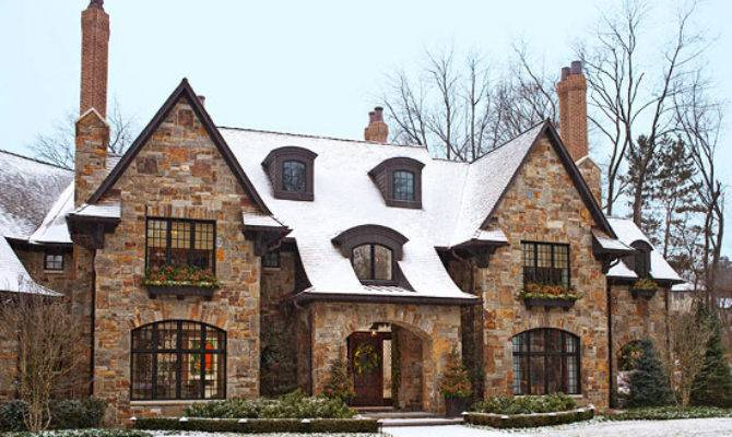 Neutral Palette Exuberant Holidays Traditional Home