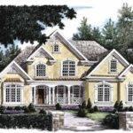 New American House Plan Lavish Amenities Square Feet