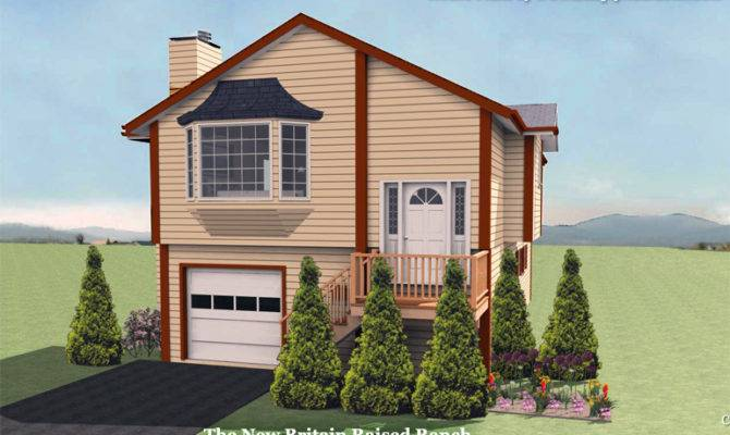 New Britain Raised Ranch House Plan