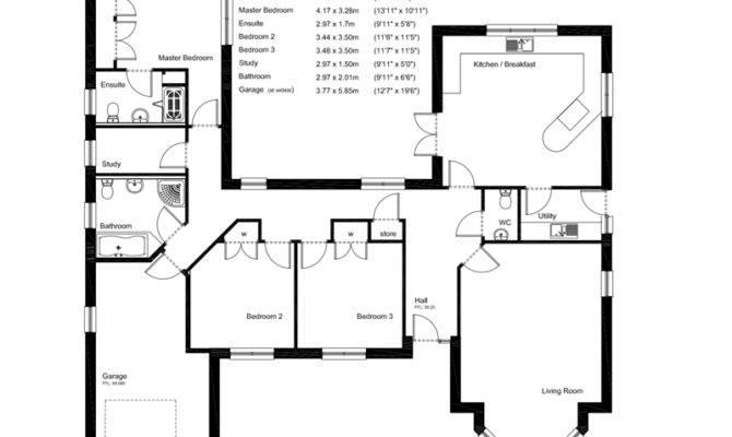 New Build Elegant Unique Design Artists Impression Floor Plan