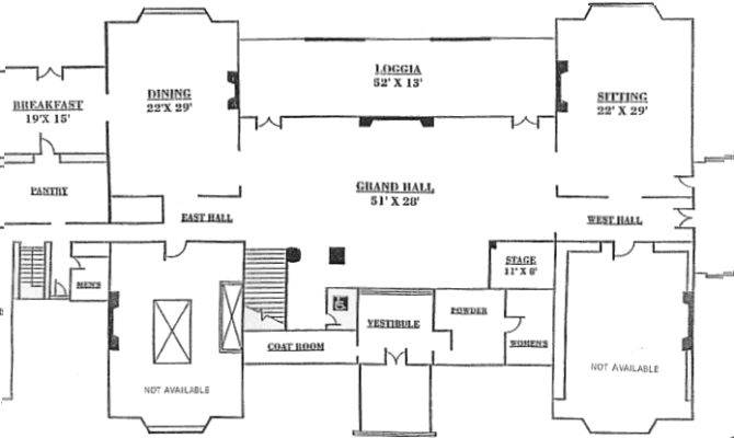 New Canaan Waveny House Floor Plan