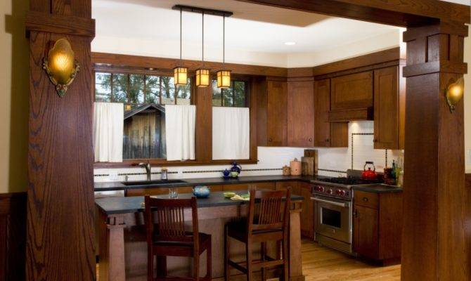 New Craftsman Bungalow Kitchen Prairiearchitect