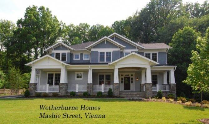 New Craftsman Style Homes Syaa