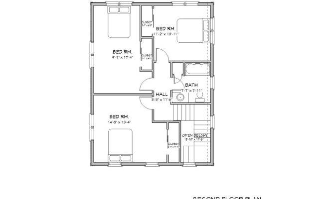 New England Colonial House Plan Traditional Cape Cod Plans