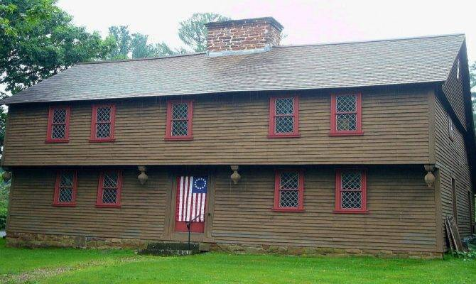 New England Colonial Houses Homes Interiors