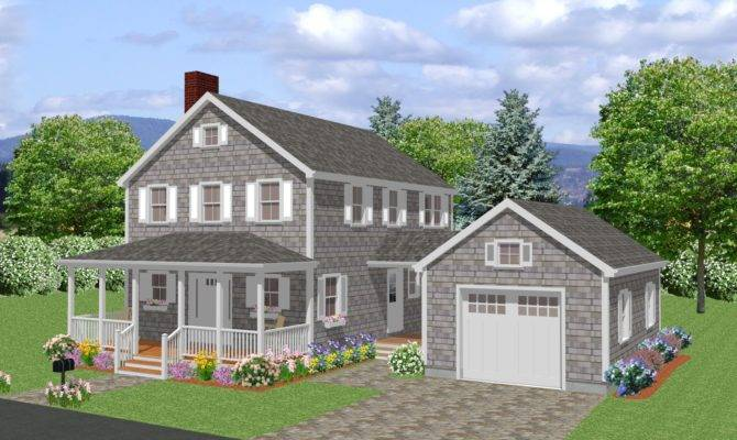 New England Colonial Types Styles