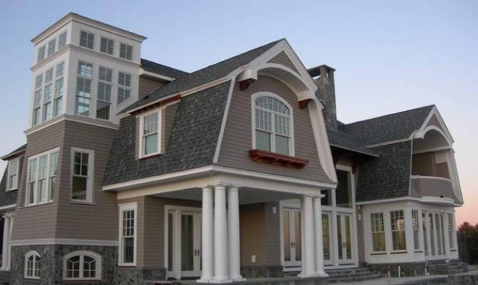 New England Shingle Style Home Beach Exterior