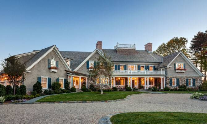 New England Shingle Style Residence Charles Hilton