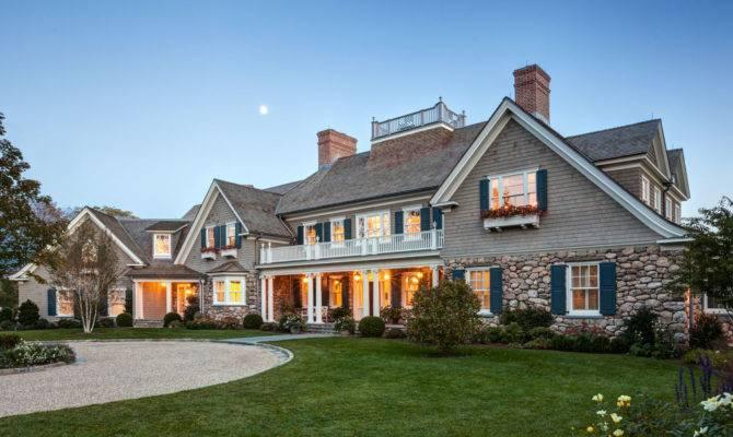 New England Shingle Style Residence Charles Hilton