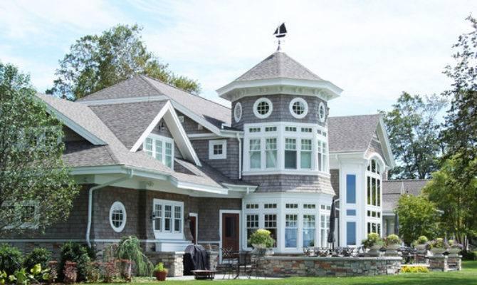 New England Shingle Style Vacation Cottage Lake Michigan