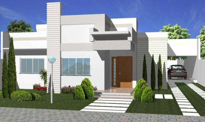 New Exterior House Designs Brucall