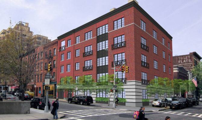 New Five Story Building Brooklyn Heights Approved Cityland