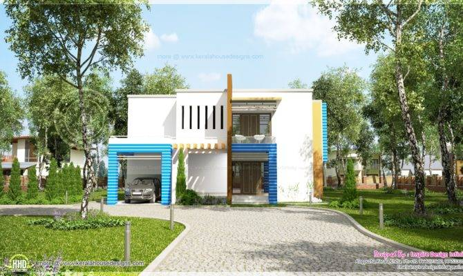 New Generation Contemporary House Exterior Kerala Home