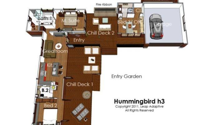 New Green Building Design Leap Adaptive Hummingbird