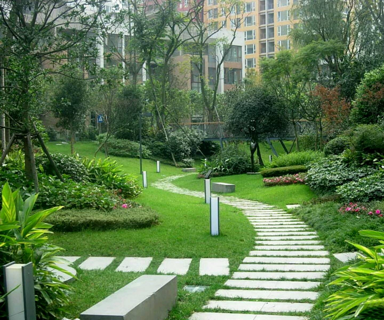 New Home Designs Latest Modern Beautiful Gardens Ideas House Plans 10080