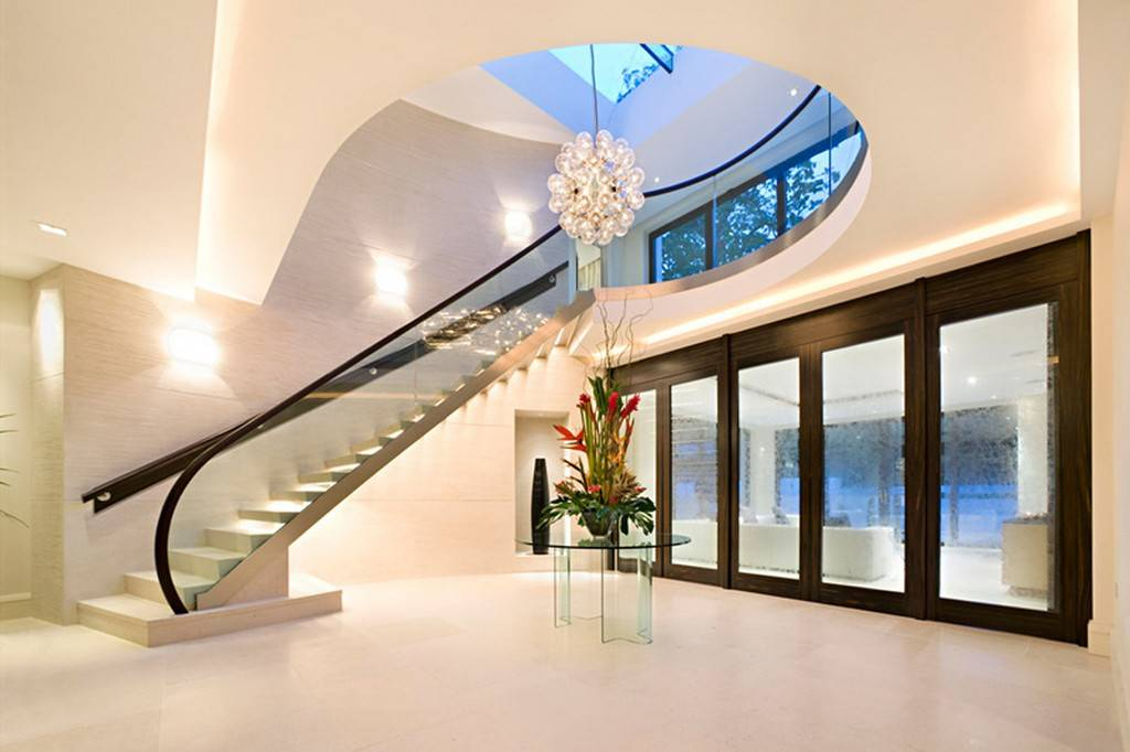 Latest Modern Homes Interior Stairs