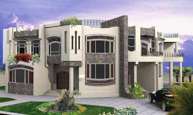New Home Designs Latest Modern Residential Villas Dubai