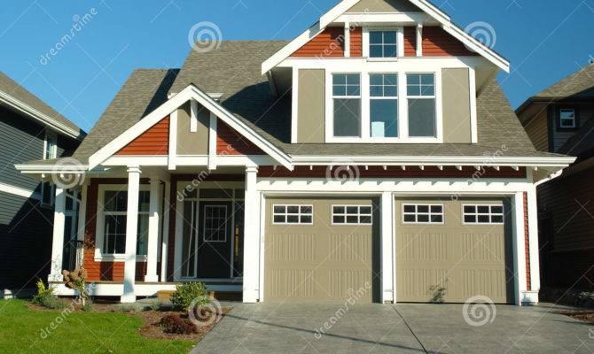 New Home House Exterior