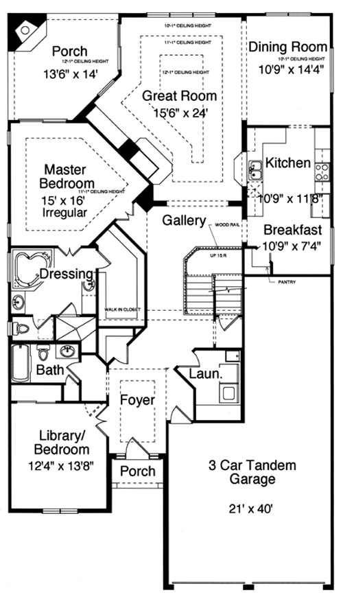 New House Plans Drawn Studer Residential Designs House Plans 144486