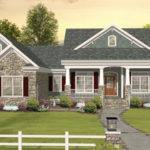 New House Plans Hillside Lot Plan