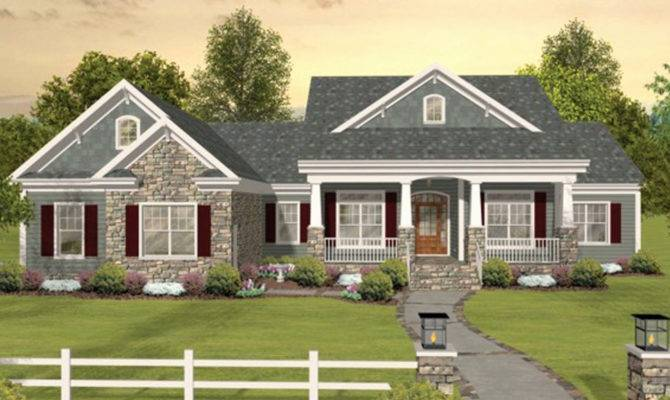 New House Plans Hillside Lot Plan