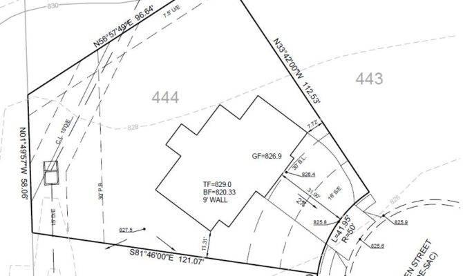 New House Plot Plan