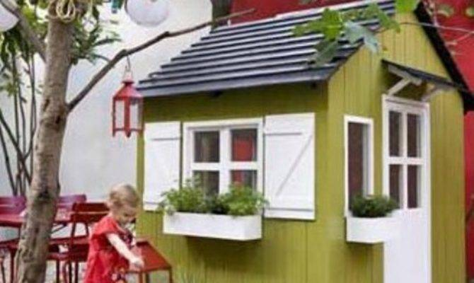 New Ideas Kids Outdoor Playhouses Kidsomania