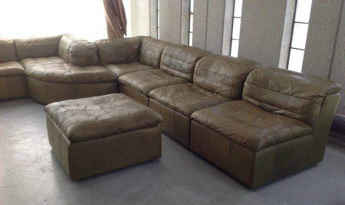 New Ideas Olive Green Sectional Sofa Patchwork Modular