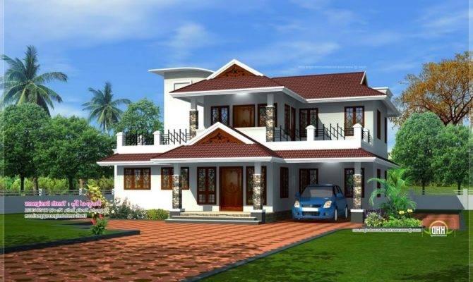 New Kerala House Models Android Iphone Ipad