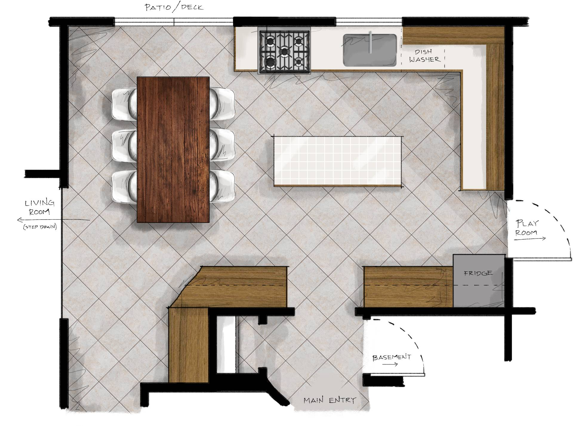 New Kitchen Plans Making Nice Midwest