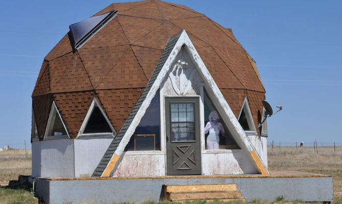 New Mexico Mid Century Modern Domes Roadsidearchitecture