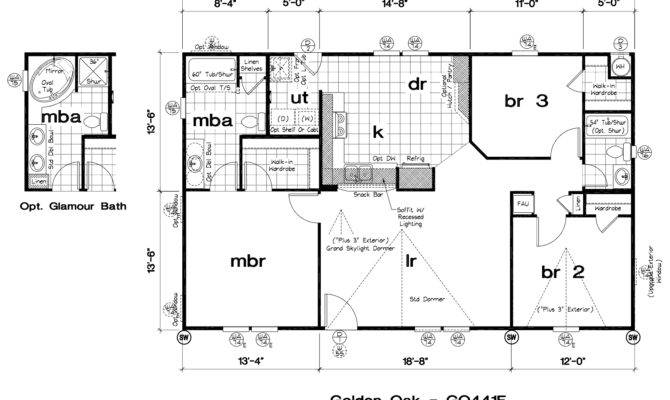 New Mobile Home Floor Plans Design Ideas Interior