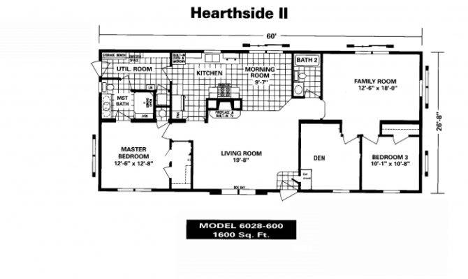 New Mobile Home Floor Plans Manufactured