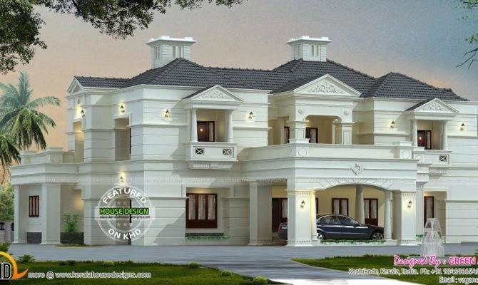 New Modern Luxury Home Kerala Design Floor Plans
