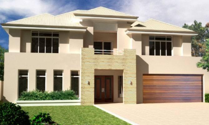 New Modern Two Storey House Plans Design Big