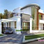 New Modern Villa Plan Kerala Home Design Floor Plans