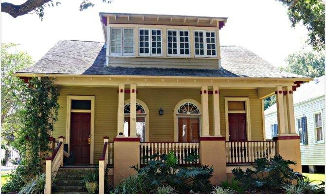 New Orleans Craftsman Style Homes Clothing Dress House