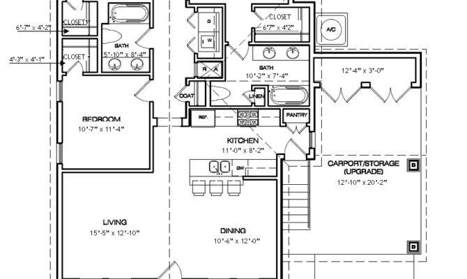 New Orleans Style Homes Plans Floor