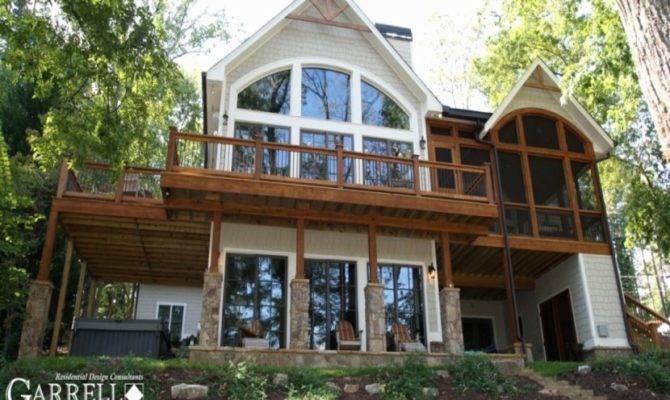 New Pics Narrow Lot Lake House Plans Floor
