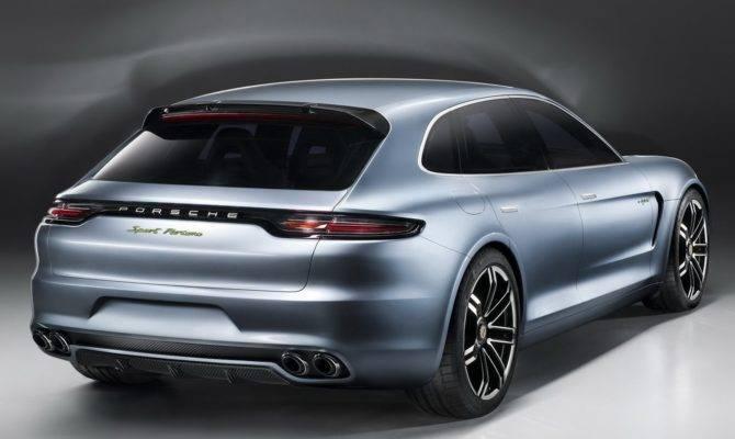 New Porsche Panamera Sport Turismo Concept Previews Next Sedan