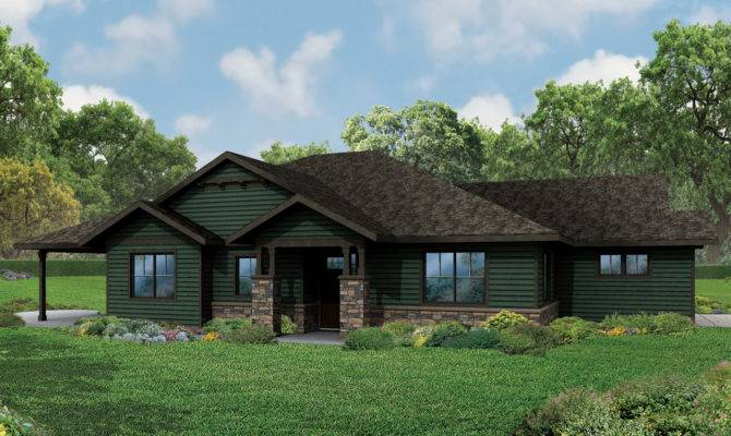 18 Fresh Craftsman Style Ranch Home Plans House Plans