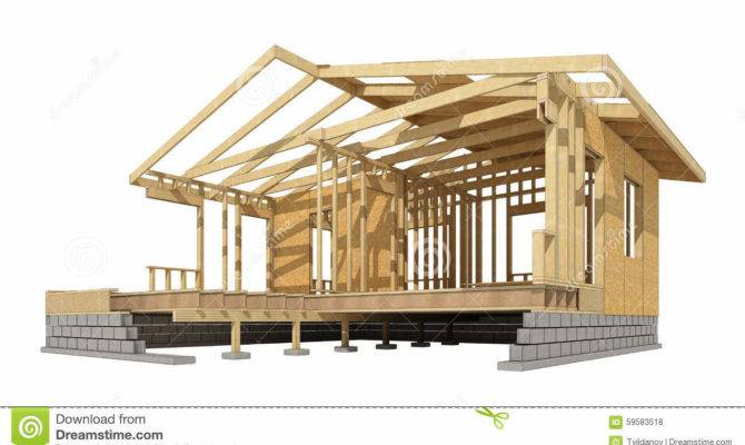 New Residential Construction Home Wood Framing