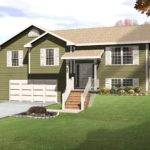 New Split Level House Plans Walkout Basement Home