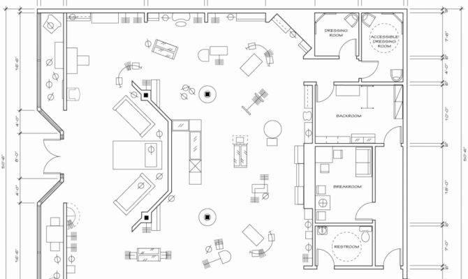 New Store Floor Plan Home Idea