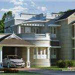 New Style Home Exterior Feet Kerala