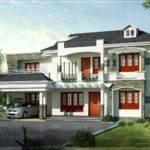New Style Kerala Luxury Home Exterior Design Floor