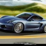 New Version Porsche Cayman Garage Car