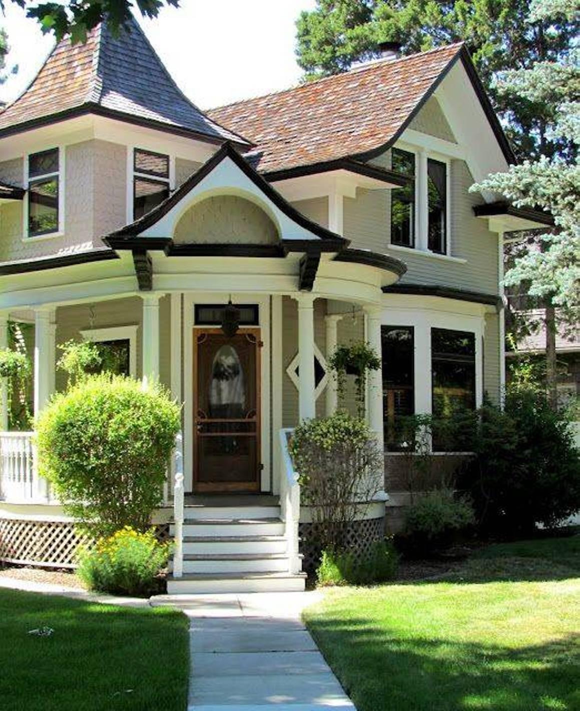 Victorian House Color Schemes Exterior